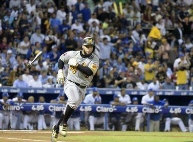 Pérez pega jonrón con las bases llenas en la victoria de las Águilas Cibaeñas
