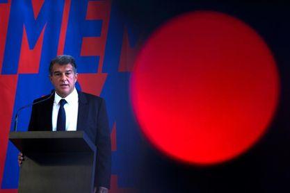 Joan Laporta presenta su candidatura a la presidencia del FC Barcelona