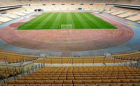 El estadio de La Cartuja, escenario definitivo de la eliminatoria copera