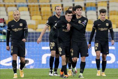 Koeman sale con Neto, Trincao y Braithwaite ante el Ferencvaros
