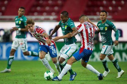 1-1. El Guadalajara y el León empatan en el partido de ida de las semifinales