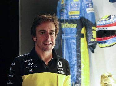 Alonso probará con Renault el día 15 en Yas Marina