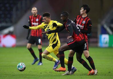 El Dortmund, sin Haaland, no pasa de un empate ante el Eintracht