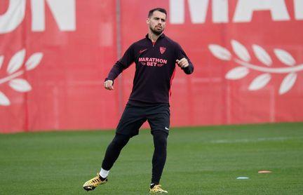 El jugador del Sevilla F.C., Suso, vuelve a la lista para el partido ante el Madrid.
