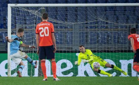 2-2. El Lazio, a octavos con susto en el último suspiro
