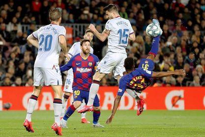 El Levante sorprendió al Barça en dos de sus últimas tres visitas al Ciutat