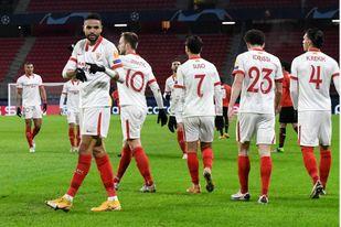 En-Nesyri ha firmado el 44 por ciento de los goles del Sevilla FC en la Europa League.