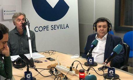 Joaquín Caro Ledes, de 'Otro Betis es posible', protagonista en Deportes COPE Sevilla.