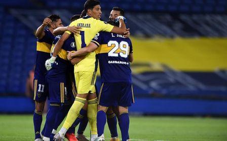 0-1. Boca sufre para pasar por penaltis ante Inter y se cita con Racing.