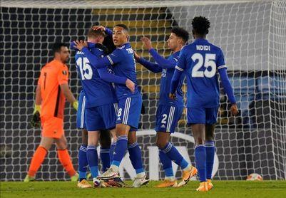 El Leicester se clasifica como primero