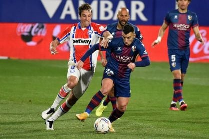 1-0. Ontiveros da su primera victoria al Huesca