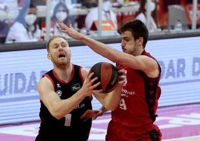 105-76. El Casademont Zaragoza pasa como un vendaval sobre el RETAbet Bilbao Basket