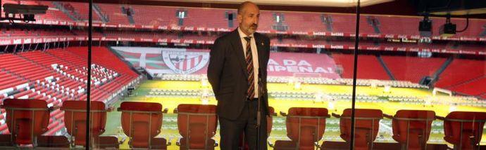 """Elizegi, """"convencido de que será buena semana"""" para el Athletic y Garitano"""""""