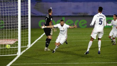 3-1: Kroos guía y Benzema castiga la irresponsabilidad de Raúl García