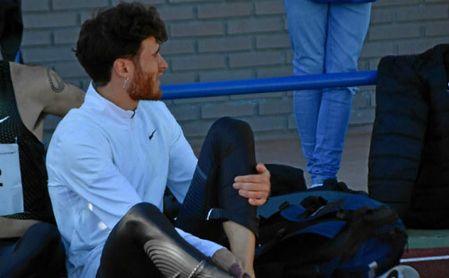 El sevillano Gonzalo García, entre las bajas anunciadas por el equipo.