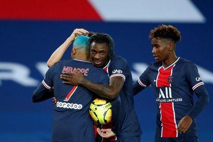 Lille y PSG no ceden, paso atrás de Lyon y Marsella