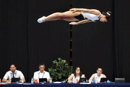 188 gimnastas pugnarán en Valladolid por el título nacional de Trampolín
