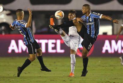 4-1. Kaio Jorge mete al Santos en semifinales ocho años después