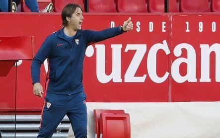Tras la Copa y jornada de descanso, el Sevilla se centra en el Valladolid