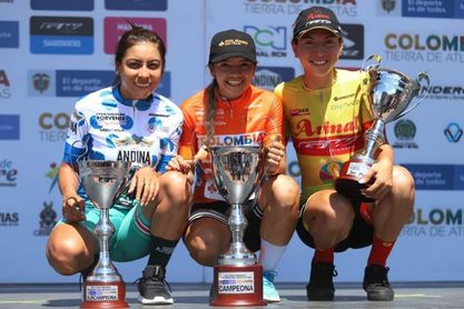 La colombiana Hernández gana el Tour Femenino; etapa final para chilena Muñoz