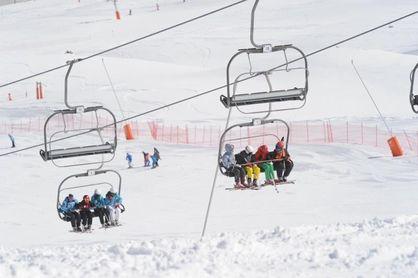 Primer fin de semana de esquí en Cataluña