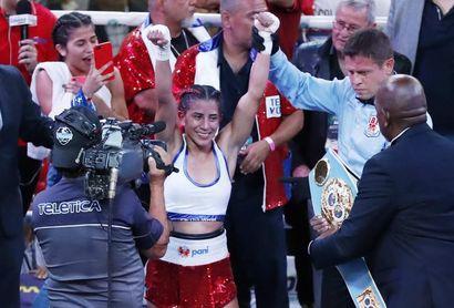 Yokasta Valle, la campeona mundial de boxeo que aspira a la unificación
