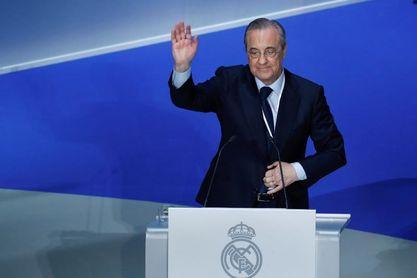 Florentino Pérez aboga por una reforma urgente del fútbol