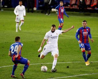 Real Madrid, brillo y apuros para seguir la estela del Atlético
