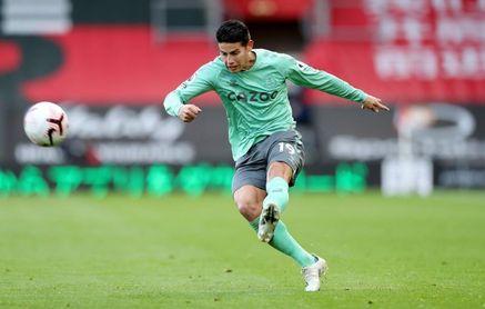 James Rodríguez no estará ante el Manchester United