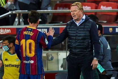 """Koeman y los elogios de Messi: """"Lo agradezco porque es un jugador importante"""""""