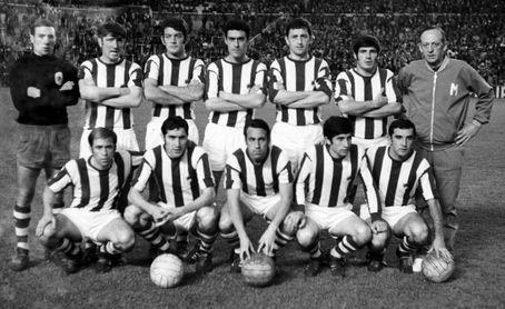 """Fallece Agustín Aranzabal """"Gaztelu"""", histórico jugador de la Real Sociedad"""