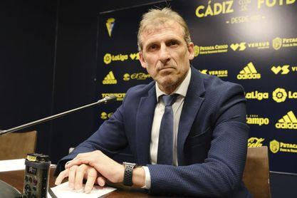 Óscar Arias fue director deportivo del Sevilla FC antes de recalar en el Cádiz CF.