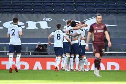 El Tottenham hace valer su pegada ante el Leeds de Bielsa (3-0)