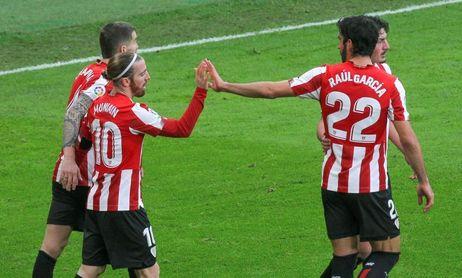 1-0. De Marcos y Muniain revitalizan al Athletic