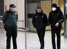 El Real Madrid espera en hotel mientras la nieve va en aumento