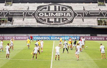 La cancha de Olimpia acogerá la semifinal aplazada entre Coquimbo y Defensa y Justicia