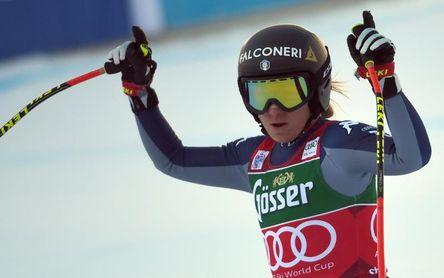Sofia Goggia conquista el descenso de St. Anton