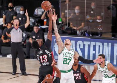 La NBA aplaza el partido de esta noche entre los Celtics y los Heat