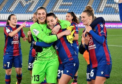 3-1. El Levante, primer finalista de la Supercopa tras una remontada