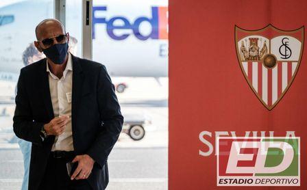 Monchi, director deportivo del Sevilla FC.