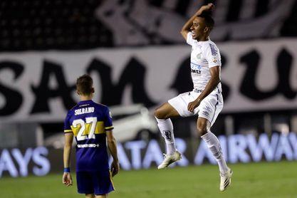 3-0. El Santos golea al Boca y jugará una final brasileña con el Palmeiras