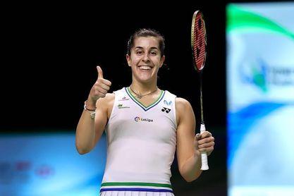 Carolina Marín jugará la final