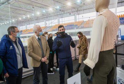 """Javier Fernández subraya el """"mérito"""" de la cantera de patinaje español"""