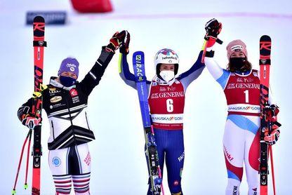 Marta Bassino ganó con autoridad el gigante de Kranjska Gora