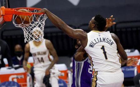 123-128. Williamson y Pelicans superan los 43 puntos de Fox, su nueva marca.