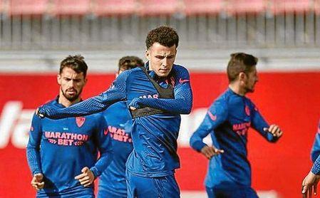 Idrissi está teniendo menos protagonismo del esperado en su primer año en el Sevilla FC.