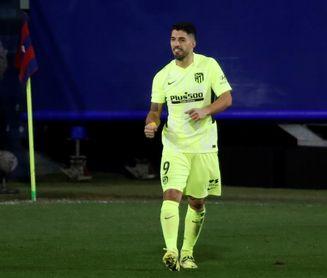1-2. Luis Suárez apuntala al Atlético