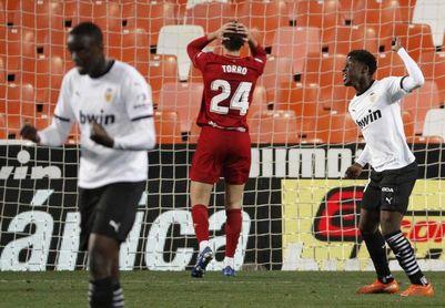 1-1. Empate insuficiente en Mestalla