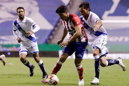3-1. Los argentinos González e Ibáñez guían triunfo de San Luis sobre Chivas