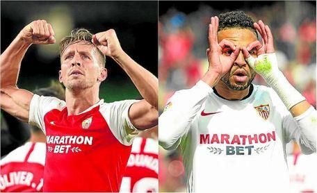 De Jong ha pasado a ser definitivamente la alternativa en la delantera del Sevilla FC.